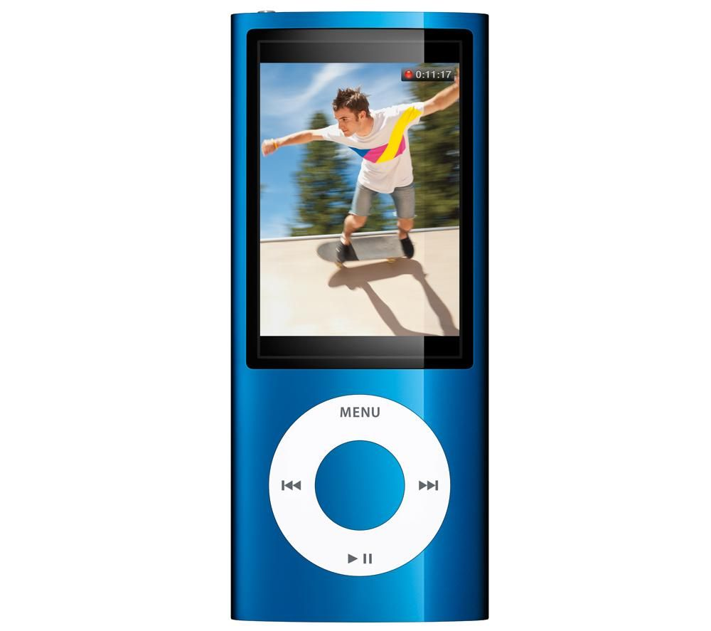 APPLE iPod nano 8 GB Blau (MC037QB/A) - NEW