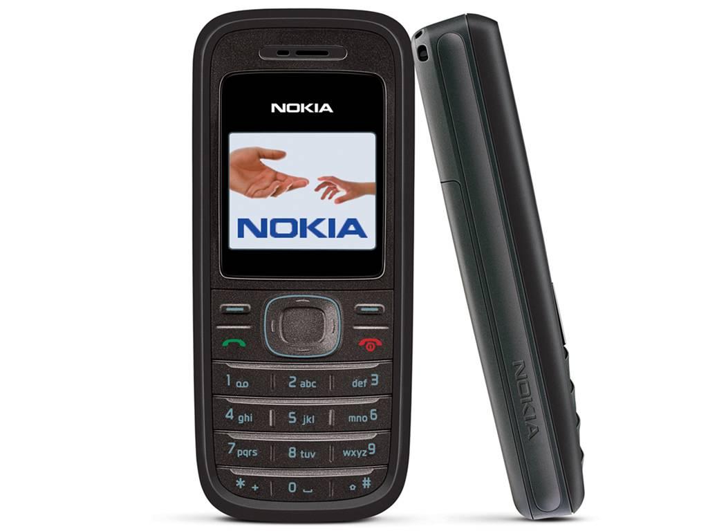 Nokia 1208 schwarz