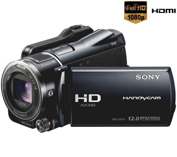 Dropshipping Sony High Definition Camcorder HDR-XR550VE