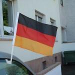 Dropshipping Autofahnen für die Weltmeisterschaft Fussball