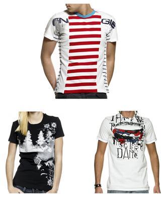 NEU Calvin Klein / Diesel / Energie T-Shirt