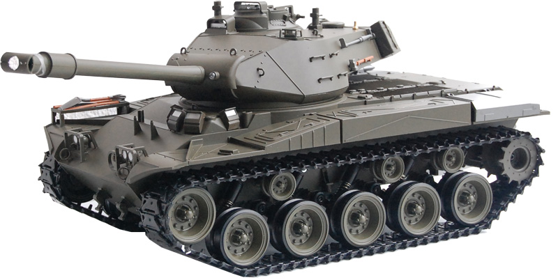 "RC Panzer M41 A3 ""WALKER BULLDOG"" Heng Long -Rauch&Sound"