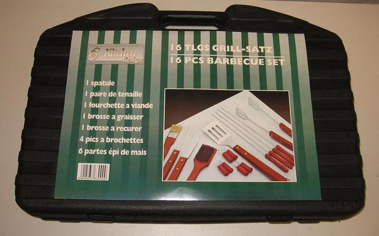 Grosshandel Barbecuegrill Set 16 teilig
