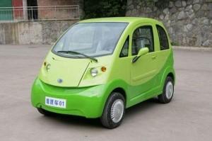 City-Elektroauto mit 45 km/h