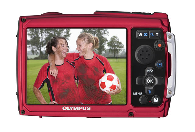 Dropshipping Olympus TOUGH-3000 - Oxide Red