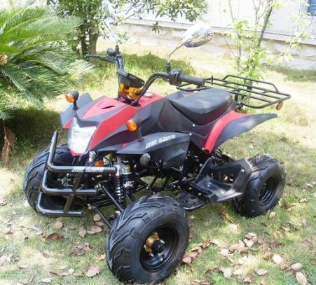 50 cc ATV mit Strassenzulassung