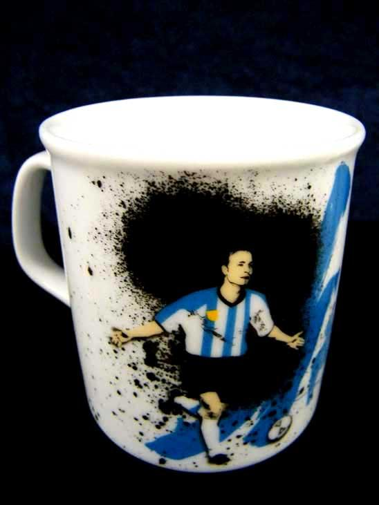 B2B Fussball Länder Tassen aus Porzellan
