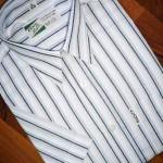 Restposten Sportliche Herren Streifen Hemden