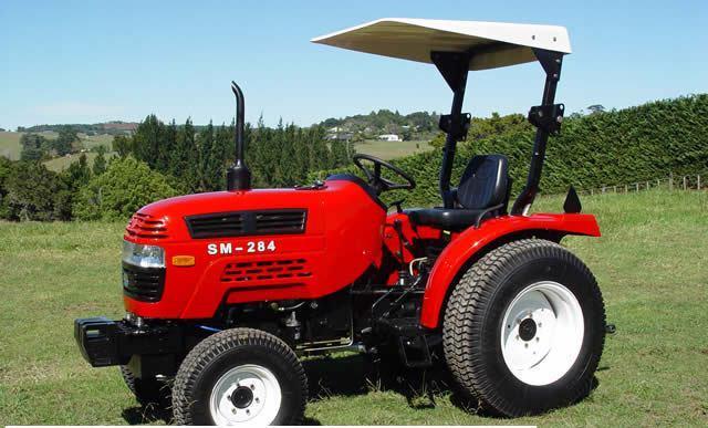 Import von Jinma Traktoren mit EU Zulassung