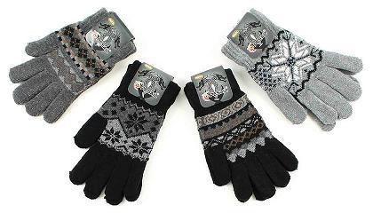 Damen Herren Handschuhe Strickhandschuhe