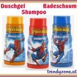 Spiderman Duschgel Shampoo Badeschaum Badespaß