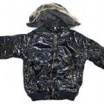 Jungen Winter Jacke glänzend