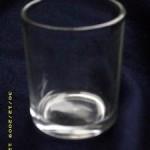 Restposten 24 Teelichthalter aus Glas 6cm