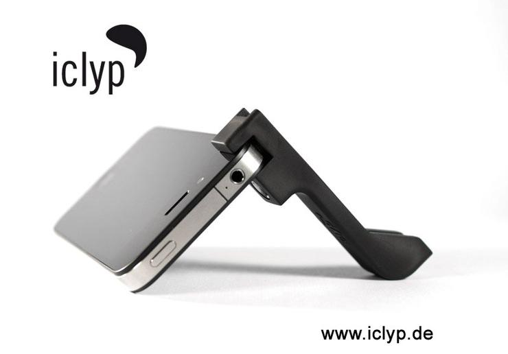 iclyp - iphone4 Kamerahalter und Stand
