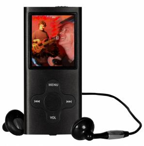MP3-Player 'AP-4bl', 4 GB spielt Musik und Videos
