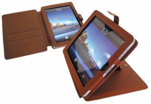 Kunstleder-Tasche mit Aufsteller, iPad mit Aufsteller