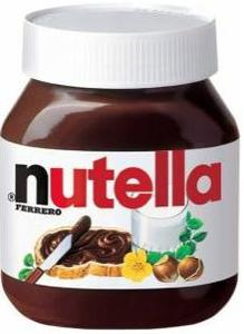 Lebensmittel aus Überproduktion Pringles, Nutella