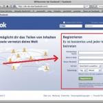 facebook-registrieren