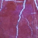 Marmor rot - Ware aus der Geschäftsauflösung