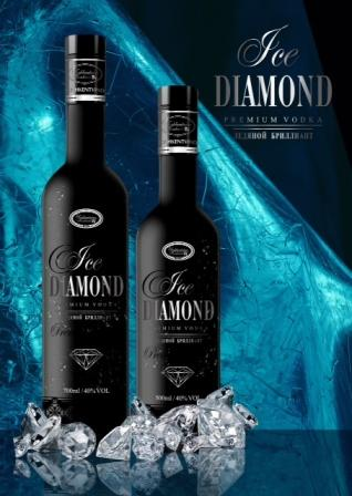 Premium Vodka Ice Diamond 1 Liter Großhandel
