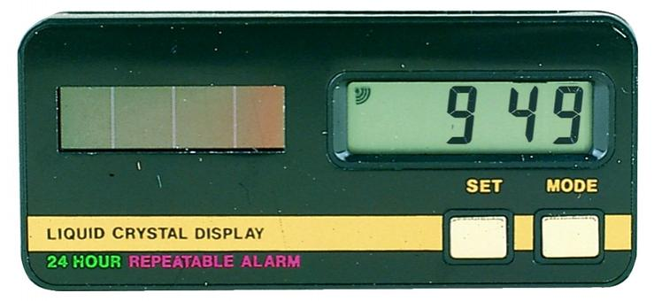 10x Solar LCD-Uhr für Auto Wohnmobil Motorrad u.a. Großhandel