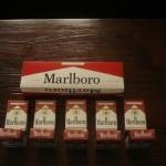Marlboro Red und Marlboro light Zigaretten Posten