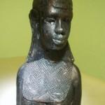 5 Schmuckkerzen Afrikanische Frauenbüste 20cm Großhandel