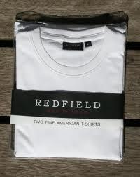 T-Shirt, weiß im Doppelpack von Redfield NOS-9301 Großhandel