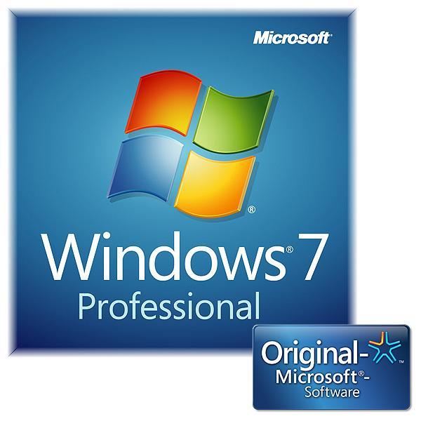 Microsoft Windows 7 Professional SB 64bit