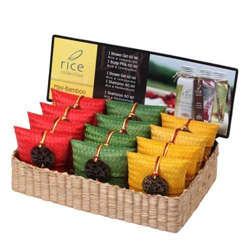 "Lanna Oriental Spa Display Box ""Mini Bamboo"""