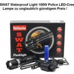 Profi Cree LED SWAT Taschenlampe HI-Power