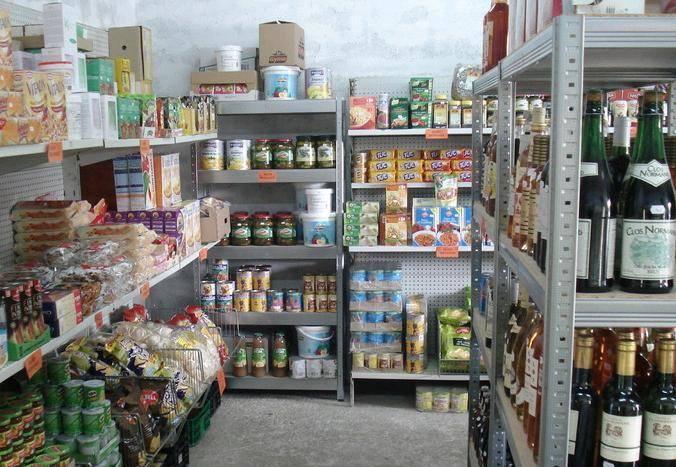 Lebensmittel und Reinigungsartikel mit kurzem MHD