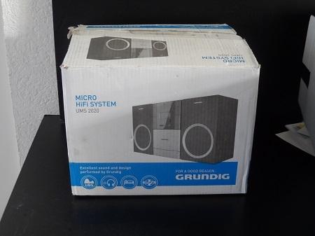 Grundig UMS 2020 Micro system / Micro Hifi System
