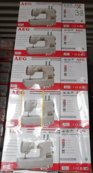 AEG Nähmaschine 376 A-Ware