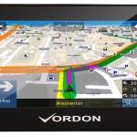 VORDON 4,3 Zoll Navigation mit IGO Europakarte