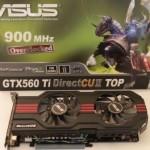 Grafikkarte ASUS GTX 560 ti 1 GB