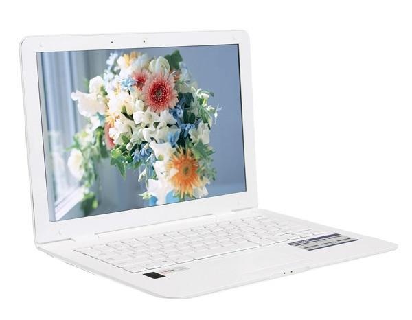 Notebook 14Zoll, 2 GB, 320 GB Festplatte in weiß