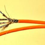 SFTP CAT 7 DUPLEX Netzwerkkabel 100 m Verlegekabel