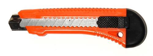Cuttermesser mit Metallführung 18 mm