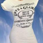 Basic Shirt mit Druck aus England