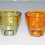 Restposten Kerzenhalter Teelichthalter Glas