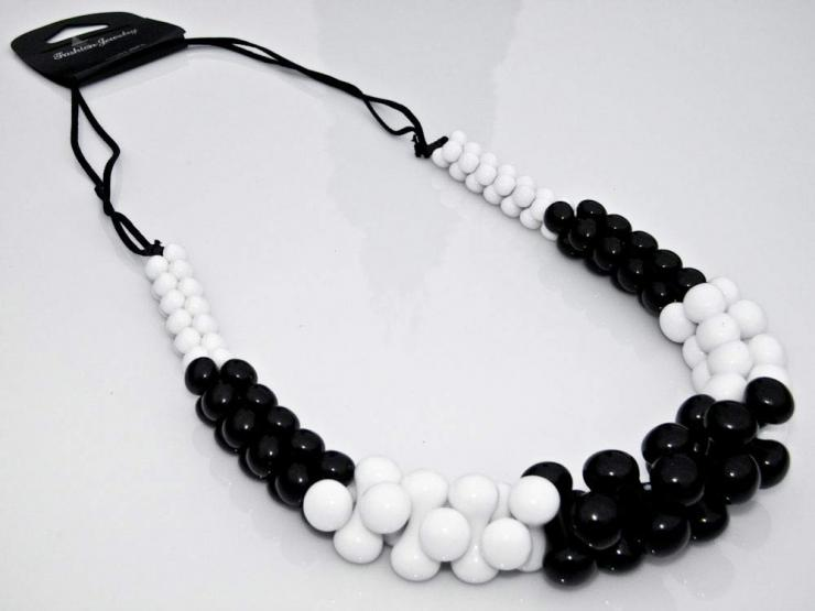 Collier, Modeschmuck, Ohrringe, Perlenkette, Schmuckset
