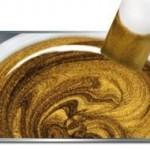 Colour Gel Metallic Ice Gold