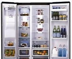Samsung und LG Side By Side Kühlschränke B-Ware