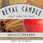 Duftkerzen im Glas Apfel & Zimt