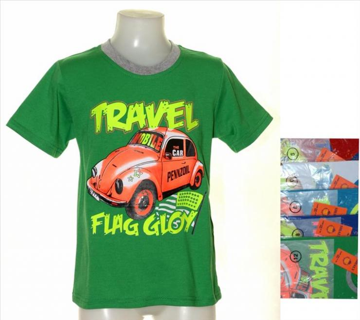 Kinder Shirt - T-Shirts Travel 4-12 Jahre