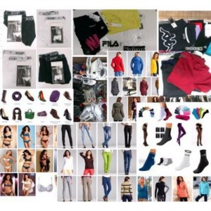 Schuhe, Jacken, Hosen, Pullover und vieles mehr