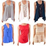 Damen Blusen Mix Vero Moda (6 Modelle)