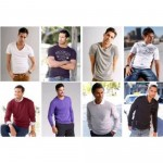 German marken Herren Mix Pullover und Shirts