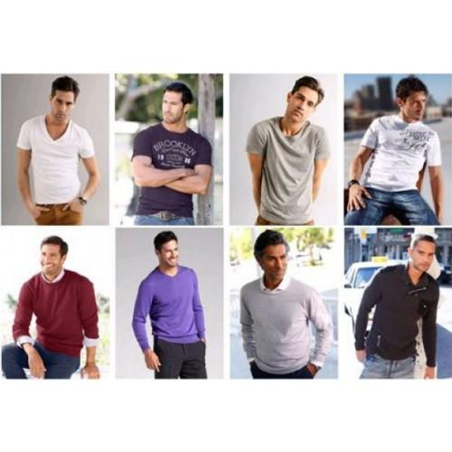 German marken Herren Mix Pullover und Shirts
